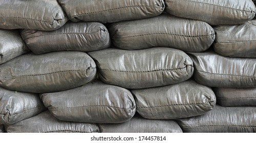 sand bags background, sand bags texture