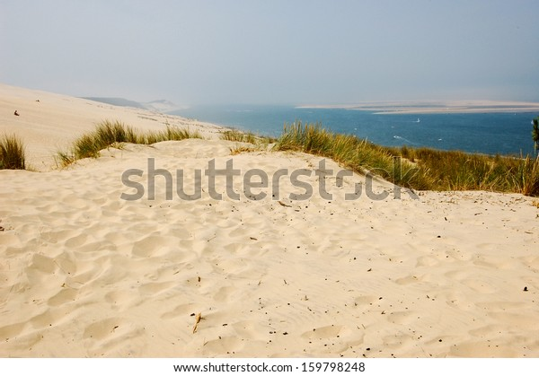 Sand Beach Arcachon Dune Pyla Stock Photo Edit Now 159798248