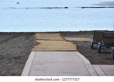 Sand Beach Atlantic Ocean
