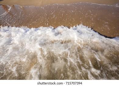 Sand Beach Holiday Background