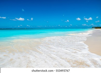 Sand beach on Turks And Caicos