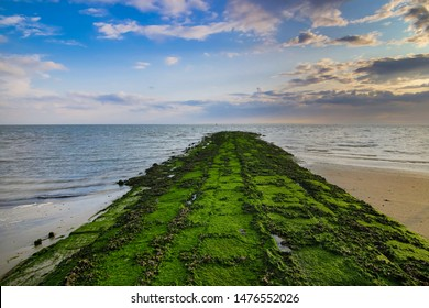 sand beach paradise view in island norderney, travel Germany