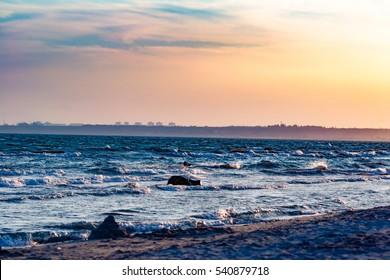sand of beach sea