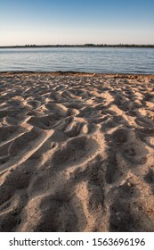 Sand beach in Stary Dwor by Siemianowka Lake - Shutterstock ID 1563696196