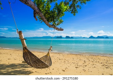 Sand beach in Thailand