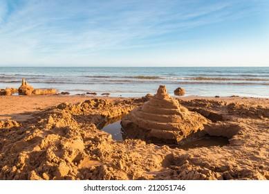 Sand Castle (Green Gables Shore, Prince Edward Island , Canada)