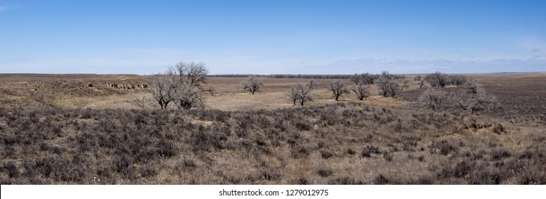 Sand Creek Massacre National Historic Site, Colorado-March 2016: National Historic Site dedicated in 2007 at the location of a sad and little known event in the western migration occurring in 1864.