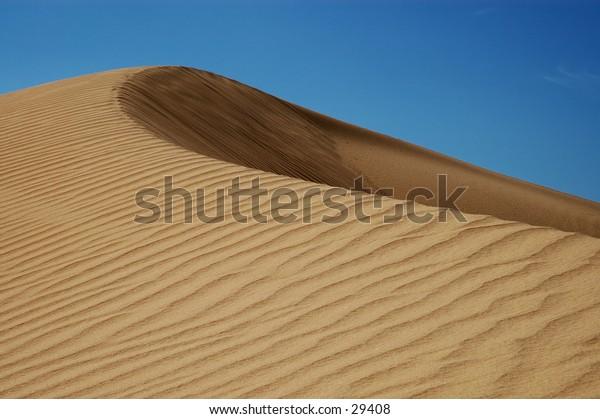 Sand dune in the Algodones wilderness, CA