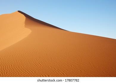 Sand Dune in Namib desert