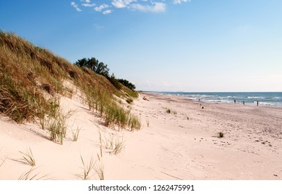 Sand dune on Curonian Spit, Lithuania