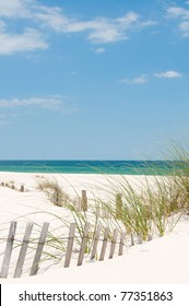 sand dune on Perdido Key, Florida
