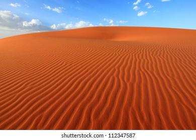 Sand Dune in Sahara, Morocco