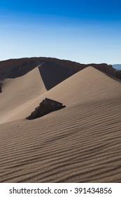 Sand dune in Valle de la Luna, Chile