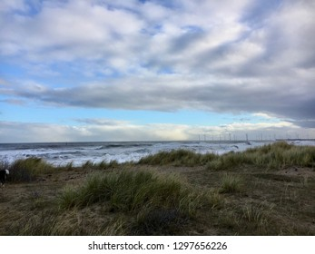 Sand Dune Walk, Seaton Carew and Hartlepool, England