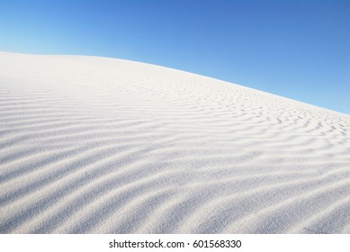 Sand Dune at White Sands National Monument, New Mexico, USA