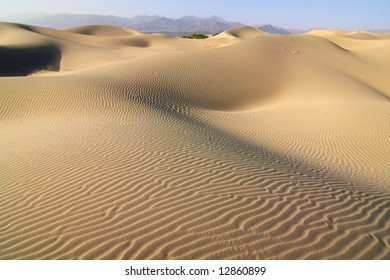 Sand Dunes in Death Valley National Park , California