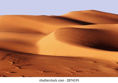 Sand dunes, Libya