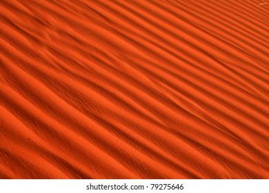 Sand Dunes Monument Valley Utah