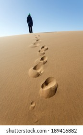 Sand Dunes in Namib Desrt, Namibia, Africa