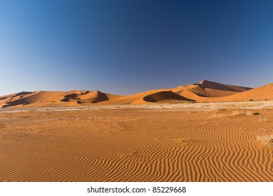 Sand Dunes in Namib Naukluft National Park