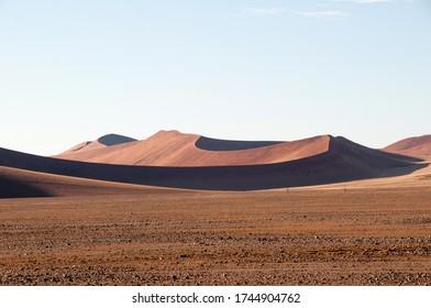 Sand dunes in the Namib Naukluft Park