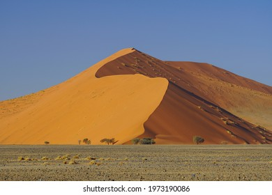 Sand Dunes in Namib-Naukluft National Park, Sesriem, Namibia