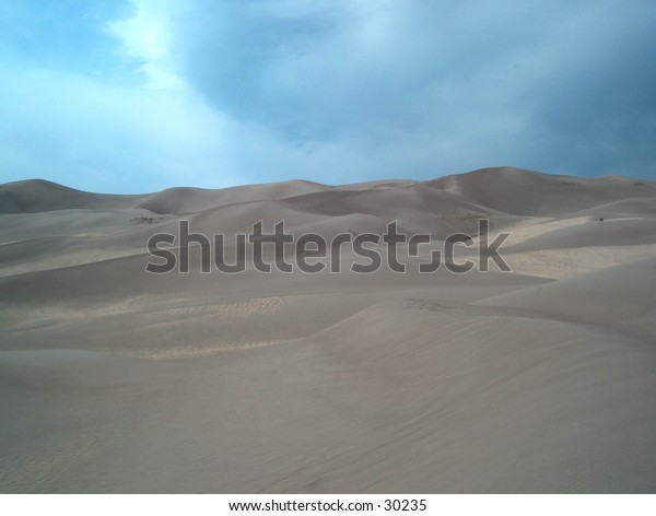 Sand Dunes in New Mexico