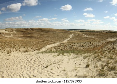 sand dunes on the Curonian Spit in Nida