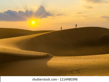 sand dunes on Gran Canaria