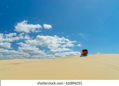 Sand dunes at Port Stephens, Australia