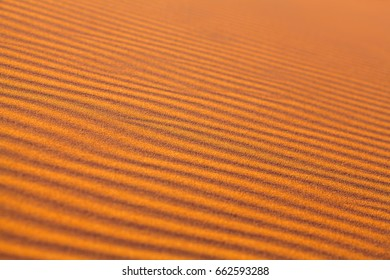 Sand dunes in Sahara desert abstract background