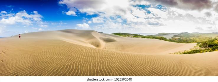 Sand dunes in Sigatoka, Viti Levu Island, Fiji