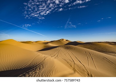 Sand dunes in Southern California