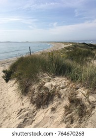 Sand Dunes in Watch Hill - Westerly, Rhode Island