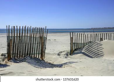 sand dunes west wittering beach sussex england