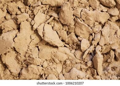 Sand, granular non-metallic material