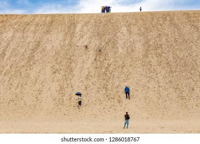 Sand hill, Tottori prefecture, japan