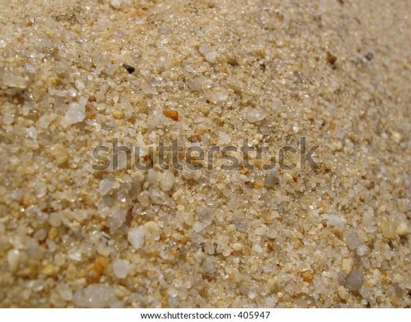 Sand in macro