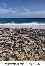 Sand ocean background