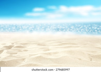 sand ocean and sky background
