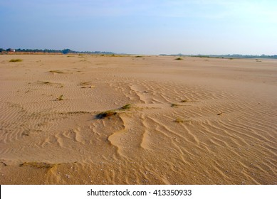 Sand rivers dry up. During the dry season Caused by deforestation upstream Dams The scramble for water Water management mistakes Sand instead of water flows Drought and famine