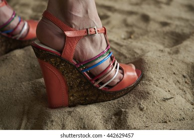 Wedges Feet Images, Stock Photos