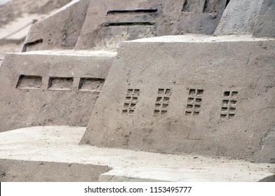 sand sculpture gotham city