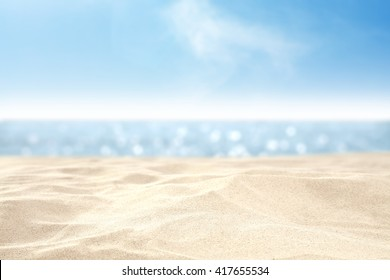 sand and sea and sky  - Shutterstock ID 417655534
