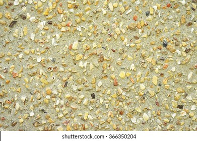 sand and small stones texture