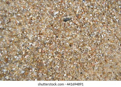 Sand and stone swept