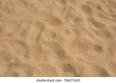 Sand texture background closeup