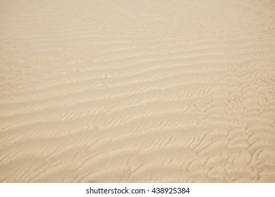 sand texture and background in koh samui bay thailand .