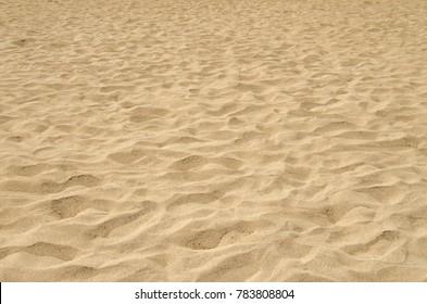 Sand texture on beach