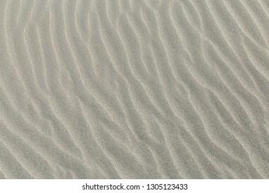 sand texture, sand patterns in the desert